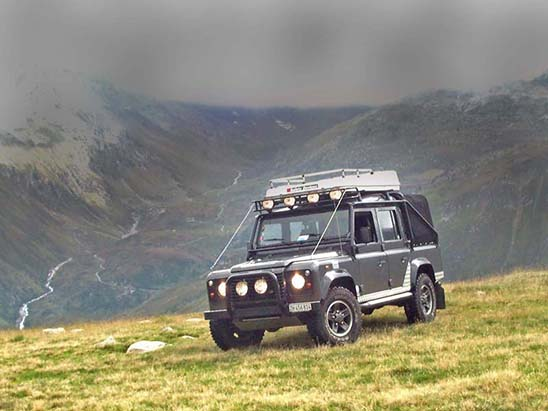 Land Rover Soft Top