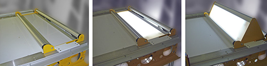 Vacuum Table Light Box