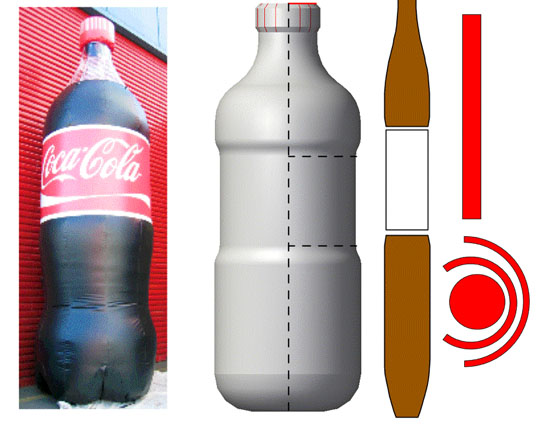 Canvasland Coke Bottle